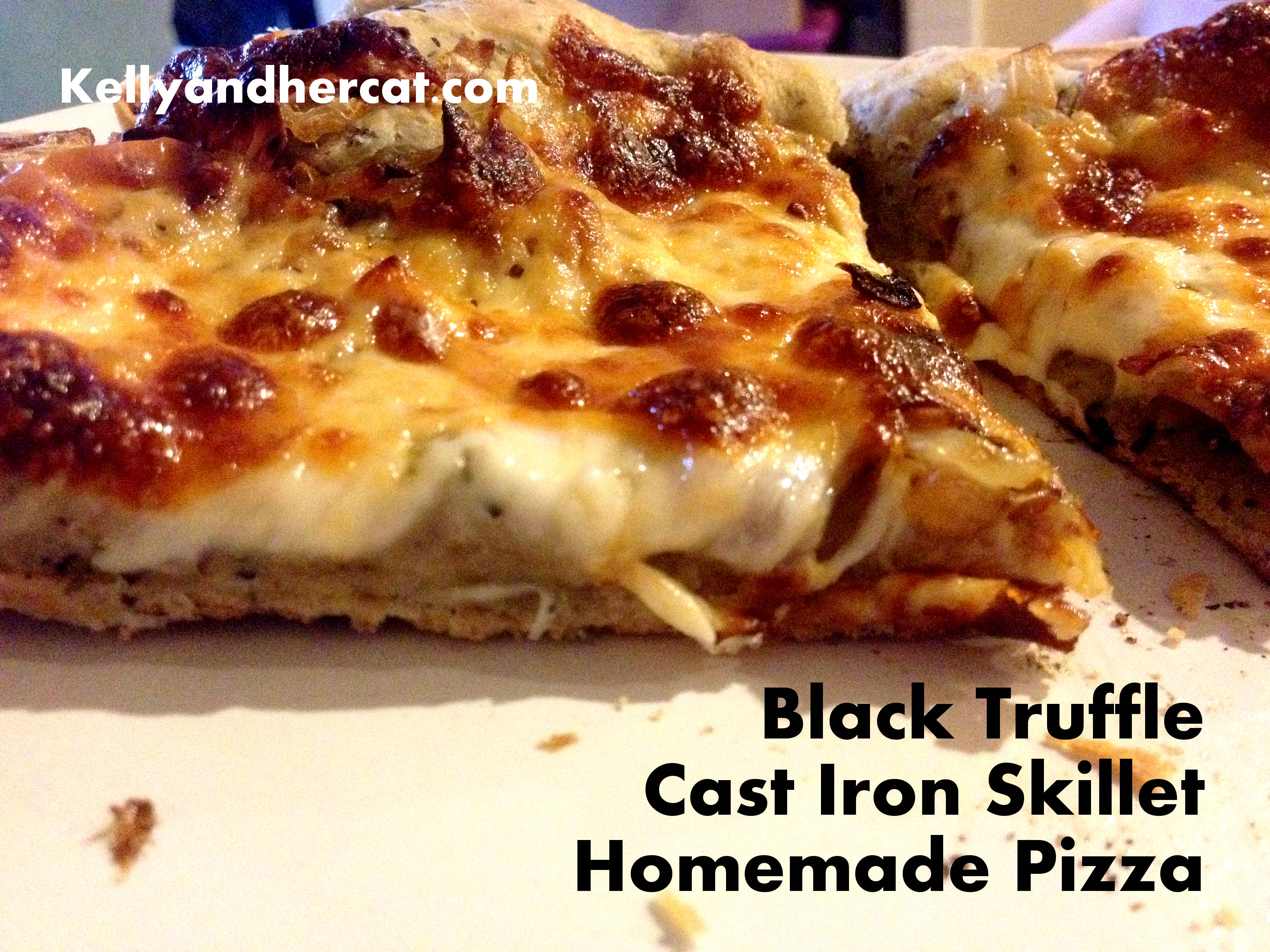 Black Truffle Garlic Pizza