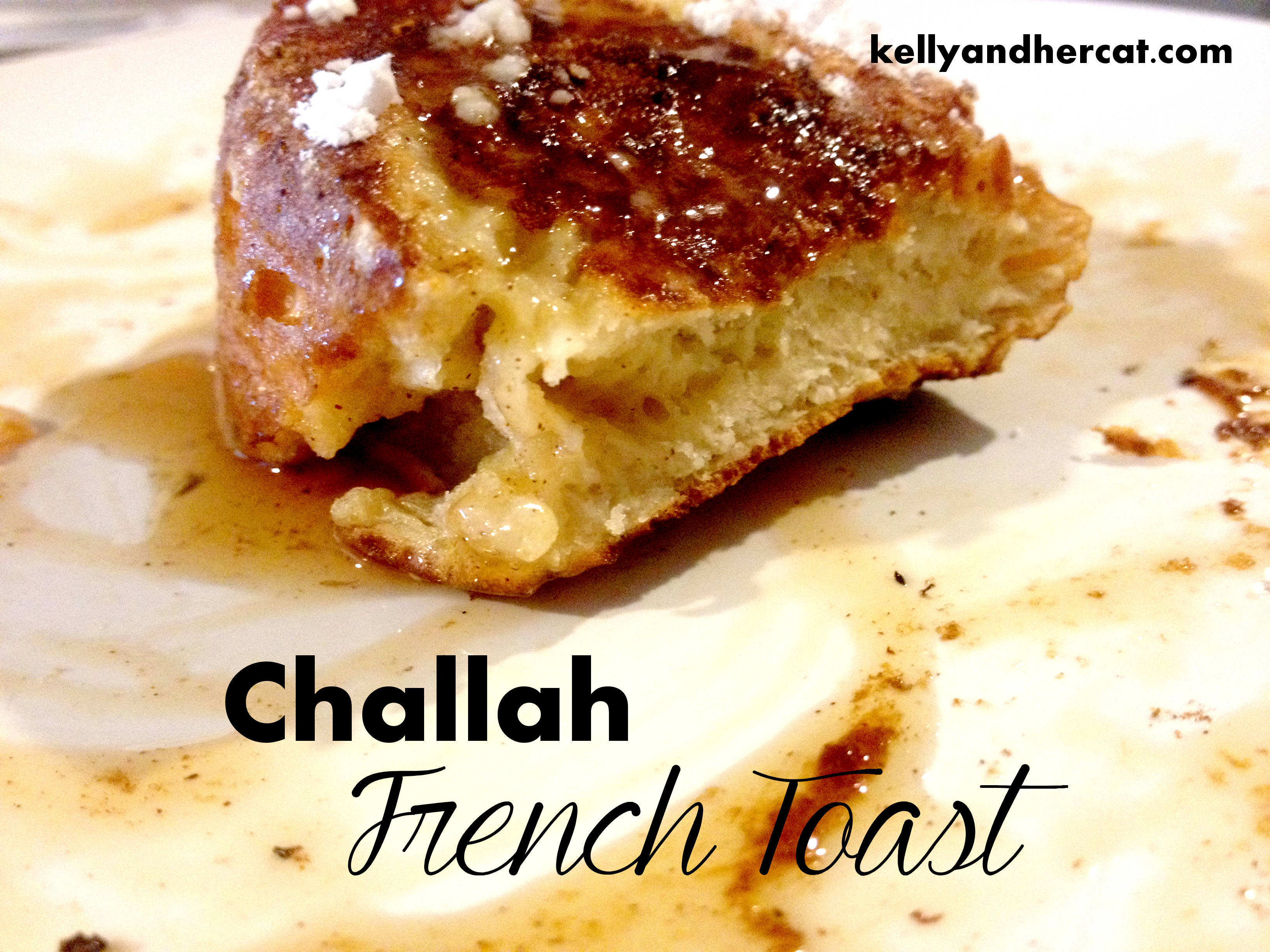 challah french toast kelly and her cat2