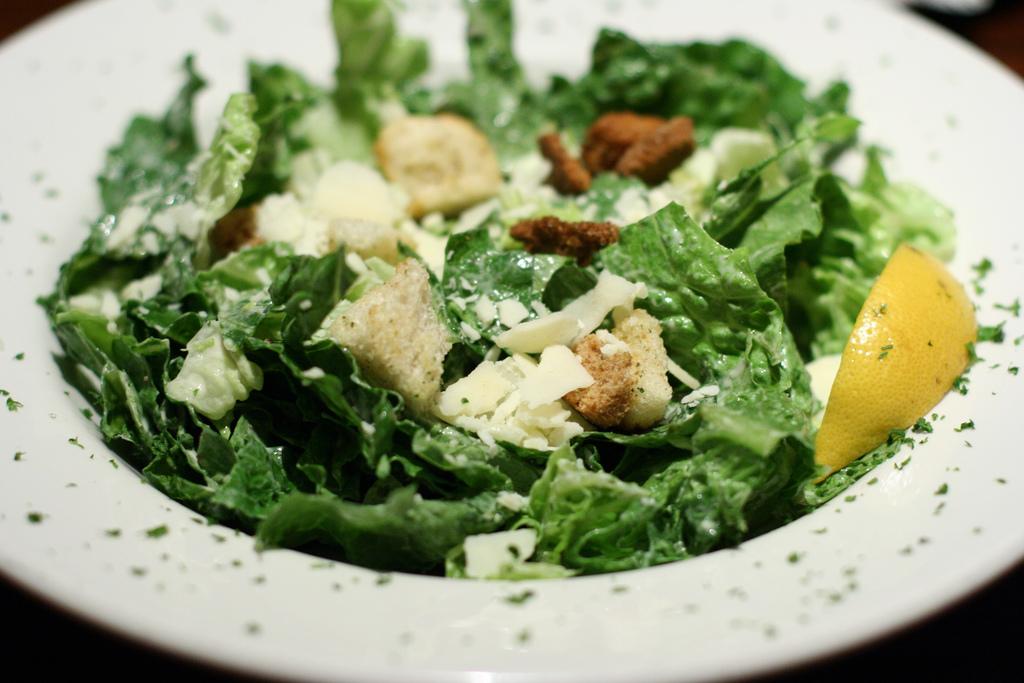 Lemon Parmesan Caesar Salad